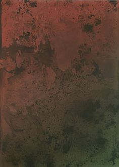 Untitled Painting in Red Over Green (2015) / by Sayre Gomez