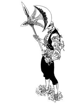 Nanatsu no Taizai the seven deadly sins Lord Escanor Anime Echii, Chica Anime Manga, Anime Art, Escanor Seven Deadly Sins, Demon King Anime, 7 Sins, Dark Souls, Character Drawing, Character Art