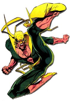 May - First appeared Iron Fist, in Marvel Premiere Comic Book Artists, Comic Book Characters, Comic Book Heroes, Marvel Characters, Comic Books Art, Comic Art, Comic Movies, Marvel Comics, Marvel E Dc