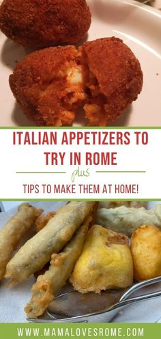 Start your italian dinner in style with these appetizer ideas from Rome. Italian Appetizers, Yummy Appetizers, Family Meals, Kids Meals, Fried Zucchini Flowers, How To Make Bruschetta, Rome Food, Grilled Bread, Food Kids