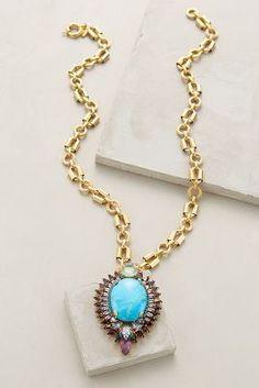 Elizabeth Cole Affusolato Necklace #anthroregistry