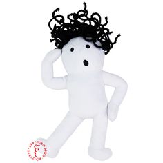 Exclusive custom plush toy white curly, handmade by Art-berloga Emotional Messages, Bunny And Bear, Handmade Toys, Plush, Curly, Snoopy, Art, Art Background, Kunst