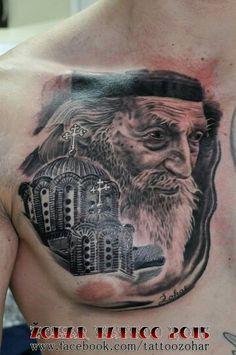 Patrijarh Pavle tattoo
