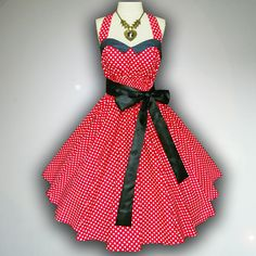 Bunny Vintage Red & White Polka Dot 50s Pin up by SiamSmileStylist, $49.99