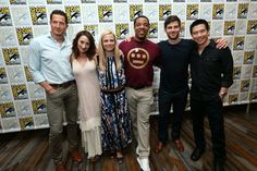 The cast of Grimm at San Diego's ComicCon 2015