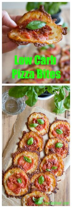 This is pizza without the drawbacks: Instead of dough, these crustless low carb…
