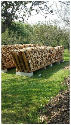 Outdoor Firewood Rack, Firewood Shed, Firewood Storage, Bench Storage, Water Storage, Storage Rack, Garden Yard Ideas, Backyard Projects, Garden Projects