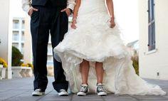 Converse colección para novias: originalidad el día de tu boda