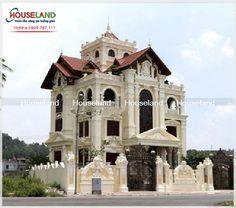 40 mẫu biệt thự cổ điển đẹp 2016 - Houseland.com.vn