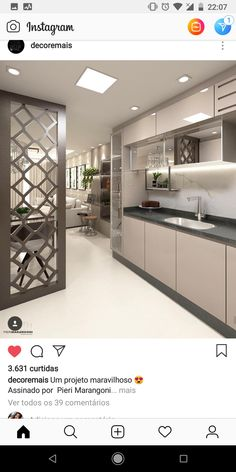 A cutlery rack protruding into the dinning hall Kitchen Cabinets Design Layout, Kitchen Bar Design, Kitchen Cupboard Designs, Modern Kitchen Cabinets, Kitchen Cabinet Colors, Home Decor Kitchen, Interior Design Kitchen, Kitchen Modular, Minimalist Kitchen