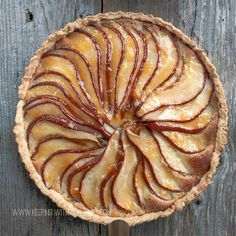 I never thought I could make a pear tart that would look so gorgeous! I've discovered that it's not that hard - and it makes for a very impressive holiday dessert..