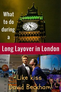 Have a long layover at Heathrow Airport in London? Here are detailed instructions for what to do to see the city (including Big Ben, the London Eye, and food) instead of waiting around!