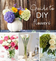 The Guide to DIY Flowers – The 'How Much,' 'When to Buy,' and 'How to' Behind Floral Design | WeddingLovely Blog