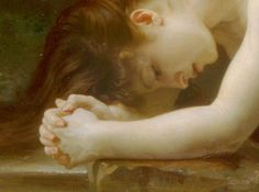William-Adolphe Bouguereau, Biblis (detail), 1884