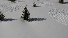Snow Circles. Video by Beauregard, Steamboat Aerials.