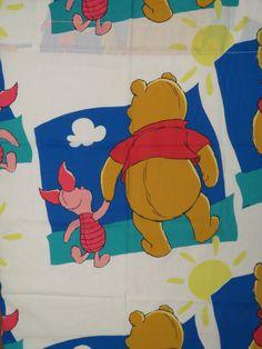 Set of 2 Vintage Winnie the Pooh curtain panels