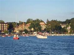 The best place ever :)  Lake Geneva, Wisconsin  lake  boats  travel wisconsin  #travel