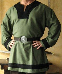 Medieval Celtic Viking Shirt Long Sleeves Deluxe