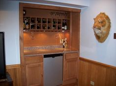 built in wine rack - Google Search