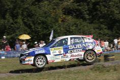 Subaru at Barum Rally whit EVO Corse wheels #evocorse #racing #wheels #sanremocorse #subaru #barumrally #rally #dualcolor #neverstop