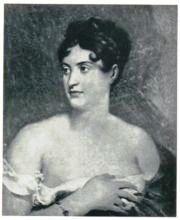 Маргарита Жозефина Жорж (1787 —1867) Красивая, величественная, прекрасно владевшая голосом Жорж очаровала Наполеона I, одно время поддерживавшего с ней близкие отношения. В России играла в романтических драмах, имела успех. Фаворитка Александра I