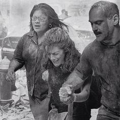 9/11/2001 ~ People running from collapse of Twin Towers