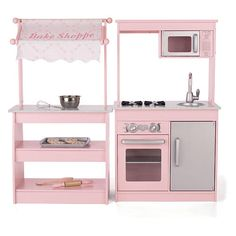 Just the bake shop side would make and adorable set of shelves or bookcase in a little girls room