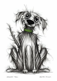 Scruffy tail by Keith Mills.