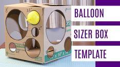 Balloon Box, Balloon Display, Balloon Decorations Party, Balloon Ideas, Balloon Columns, Balloon Arch, Balloon Garland, Blowing Up Balloons, 5 Balloons