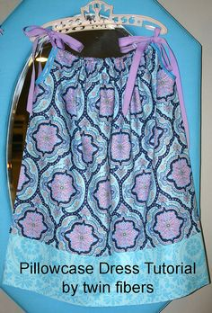 Pillowcase Dress Tutorial by twinfibers, via Flickr