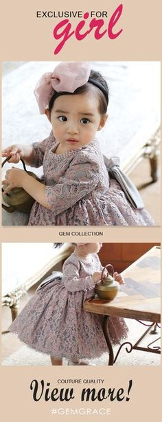 Shop Country Vintage Lace Princess Flower Girl Dress With Sleeves For Weddings online. Flower Girl Dresses Country, Vintage Flower Girls, Princess Flower Girl Dresses, Cheap Flower Girl Dresses, Country Wedding Dresses, Wedding Country, Vintage Country, Vintage Lace, Vintage Dresses