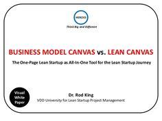 Business Model Canvas Vs. Lean Canvas