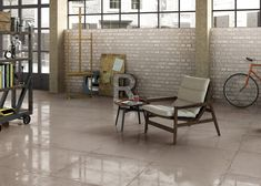 Create a stylish industrial and contemporary look in any room with concrete effect tiles for floor and coverings. Discover Res Cover Collection by Ricchetti on our Website!