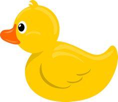 Cute Cartoon Rubber Duck Yellow Ducky