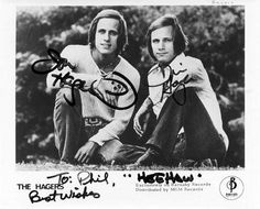 the hager twins | music men the hager twins of hee haw fame shown in this
