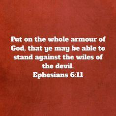 Ephesians 6:11 KJV