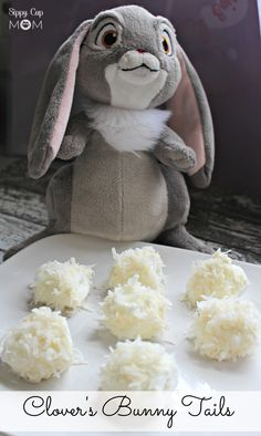 Clover's Bunny Tails Dessert - great fun for a Sophia-themed party!