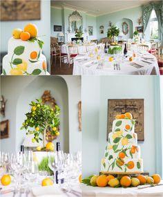 Citrus Wedding Inspiration | Oranges & Lemons | English Country Wedding | UK Wedding Photography | www.livvy-hukins.co.uk