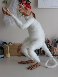 OOAK Nightswood Art Dolls: WIP ~ Part 2 An Ancient Troll and the Heart of the World.