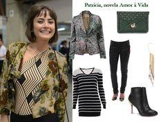 Inspire-se no look: Patrícia, da novela Amor à Vida http://tempodemoda.com.br/blog/2013/07/19/get-the-look-patricia-novela-amor-a-vida/