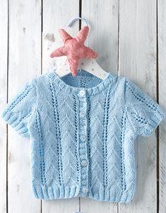 Book Baby 72 Spring / Summer | 24: Baby Jacket | Sky blue