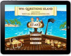Wh-Questions Island was developed by a certified speech and language pathologist for children to practice auditory comprehension and verbal expression by answering wh-questions. Children will have fun playing the colorful animated board game and earning rewards while practicing wh-questions with real -life photos.