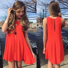 Swingy dress #swoonboutique