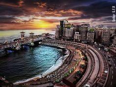 My lovely city: Alexandria, Egypt