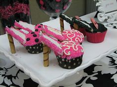 Young Women Inspiration: High Heel Cupcakes