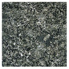 Green Diamond Granite 24 x 24 in. The Tile Shop, Granite Tile, Green Diamond, Decorative Tile, Color Tile, Kitchen Paint, Basement Remodeling, How To Dry Basil, Herbs