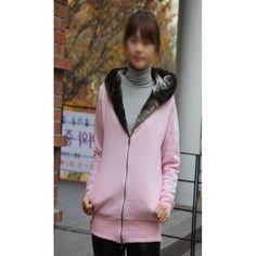 mi-all-0001 Fur-hoodie zippo