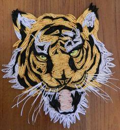 Qilled tiger