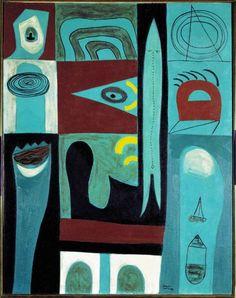 Adolph Gottlieb, Night Voyage, 1946