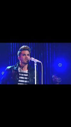 Adam Lambert sings Ghost Town at The Late Late Show with James Corden, July 17, 2015